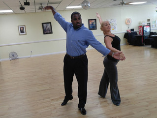 Elite Parking President Dane Grey Participates in N Florida Dancing Charity Competition
