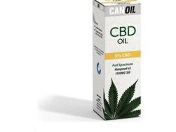 Canoil CBD olie 5% 30ml Full Spectrum hennepzaad