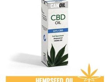 Canoil CBD olie 10% 10ml Full Spectrum hennepzaad