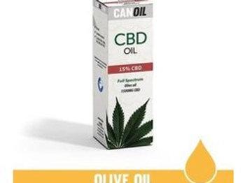 Canoil CBD olie 15% 10ml Full Spectrum olijf olie