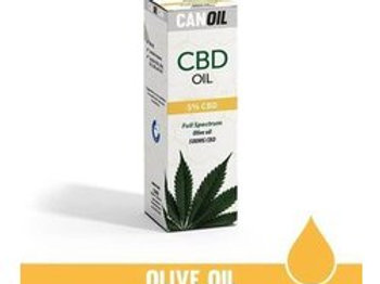 Canoil CBD olie 5% 10ml Full Spectrum olijf olie