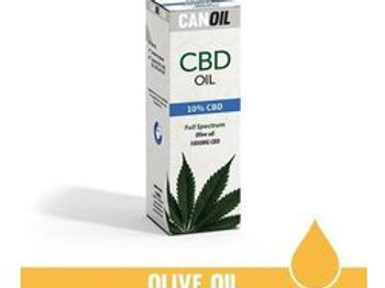 Canoil CBD olie 10% 10ml Full Spectrum olijf olie