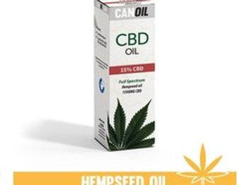 Canoil CBD olie 15% 10ml Full Spectrum hennepzaad