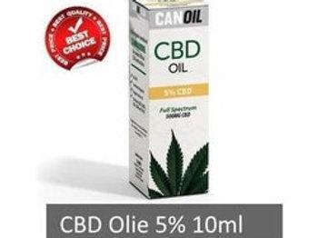 Canoil CBD olie 5% 10ml Full Spectrum hennepzaad