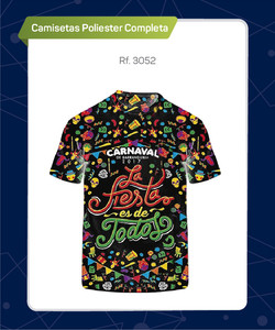 CAMISETAS SUBLIMADAS TOTAL