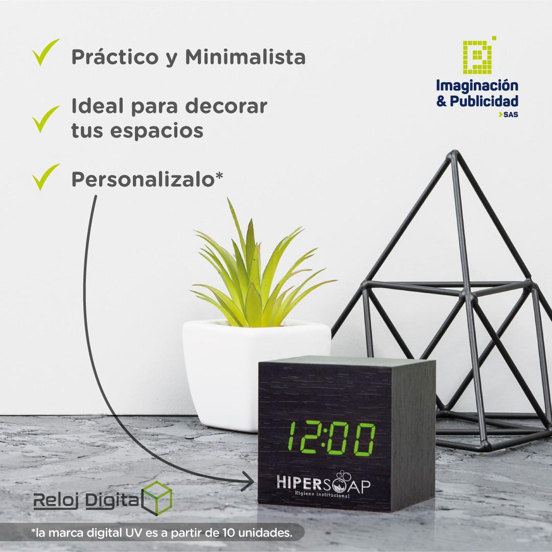 Reloj Digital 3D