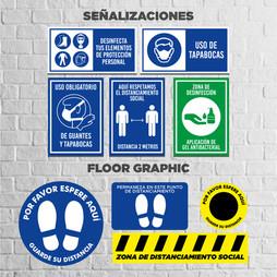 Señalizaciones y Floor Graphic