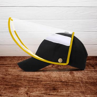 Gorra con Careta Protectora
