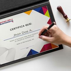 Certificados y/o Diplomas
