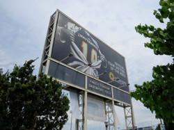 Finley Stadium Scoreboard