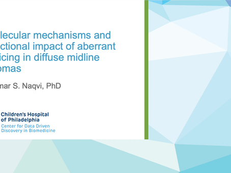 Molecular Mechanisms and Functional Impact of Aberrant Splicing in Diffuse Midline Gliomas