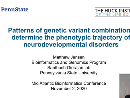 Patterns of Genetic Variant Combinations Determine the Phenotypic Trajectory of Neurodevelopmental..