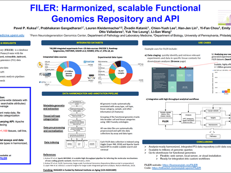 FILER: Harmonized, scalable Functional Genomics Repository and API