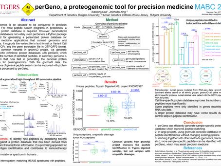 perGeno, a Proteogenomic Tool for Precision Medicine