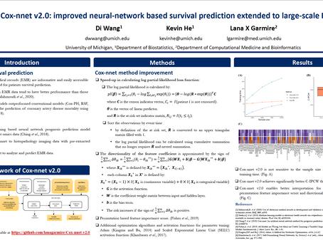 Cox-nnet v2.0: Improved Neural-network Based Survival Prediction Extended to Large-scale EMR Dataset