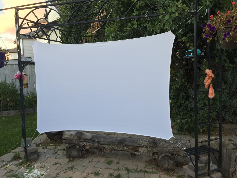 TripScreen at a backyard gazebo