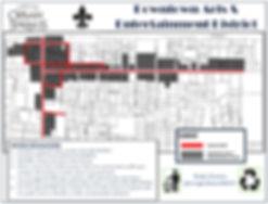 Ocean Springs downtown map