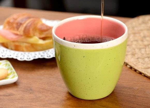 Mug + Cucharita de madera