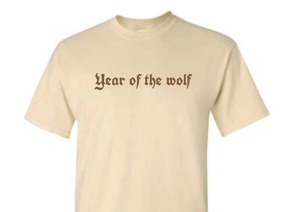 Year of the wolf - Cream-Embroidery