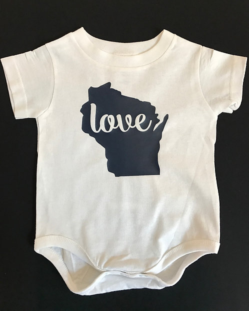 state love bodysuit