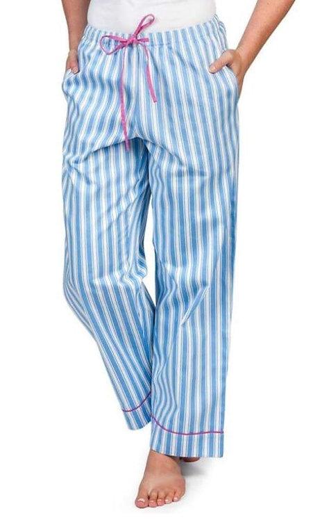 striped pajama pants