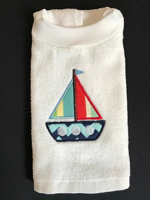 sailboat bib