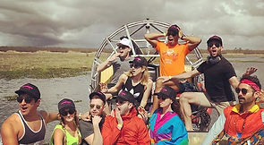 Large Airboat Tours
