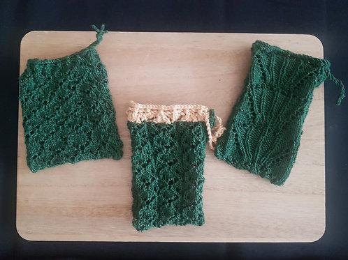 Pochon en laine