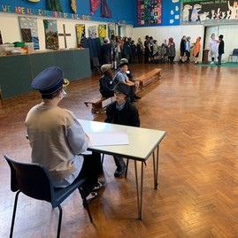 Year 6  dramatise The Arrival by Shaun Tan