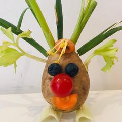 Headteacher Challenge - Potato Character