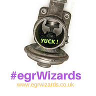 picture of a blocked egr valve, mobile mechanic repair crowbough tunbridge wells brighton
