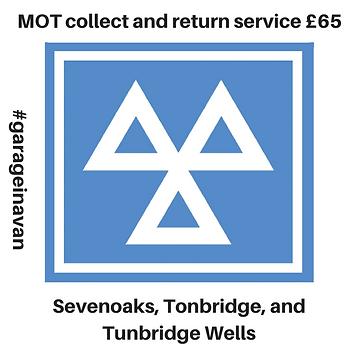 MOT collect and return service sevenoaks