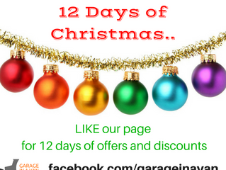 12 Days of Christmas, OFFERS for the new year