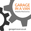 mobile mechanic logo garageinavan