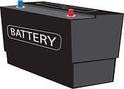 Garage in a van supply and fit batteries