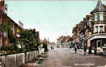 uckfield high street days gone by picture before there were cars and a need for mobile emchanics or any mechanics, garage in a van mobile mechanic covers uckfield crowborough lewes east sussex