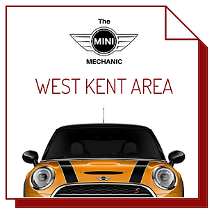 image of orange mini, link to west kent page for the mini mechanic mobile mechanic