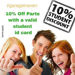 student discount on mechanic car repairs west kent