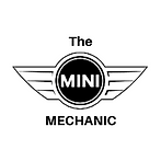 the mini mechanic logo, a mobile car mechanic specialising in minis, covering west kent and east sussex, tunbridge wells mini and brighton mini