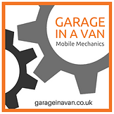 Garage in a van logo, mobile mechanic covering eastbourne, brighton and all of east sussex for mobile car repairs and servicing