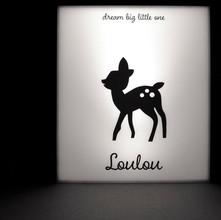 Lightbox op maat Loulou