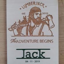 Jack geboortekaartje