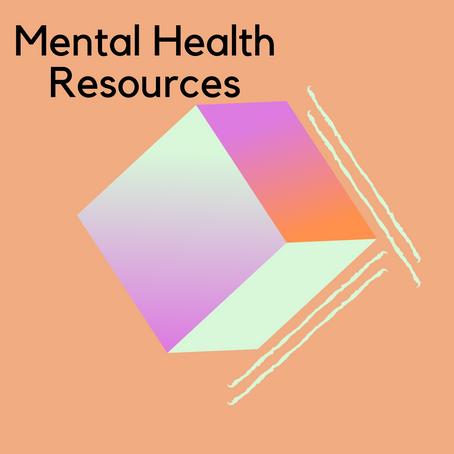 Remote Mental Health Resources