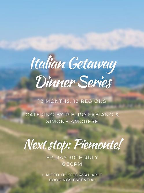Italian Dinner - JULY Friday 30th