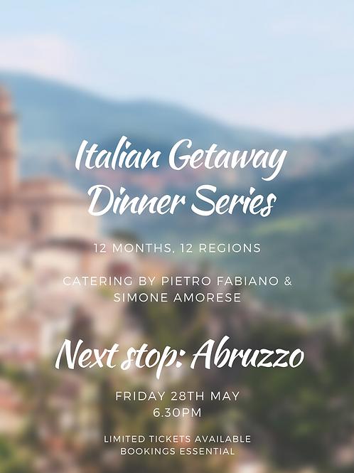 Italian Dinner - MAY