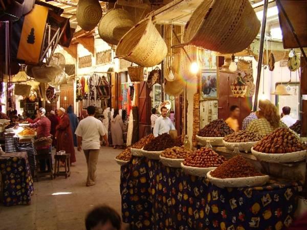 Zoco en la Medina, Tánger