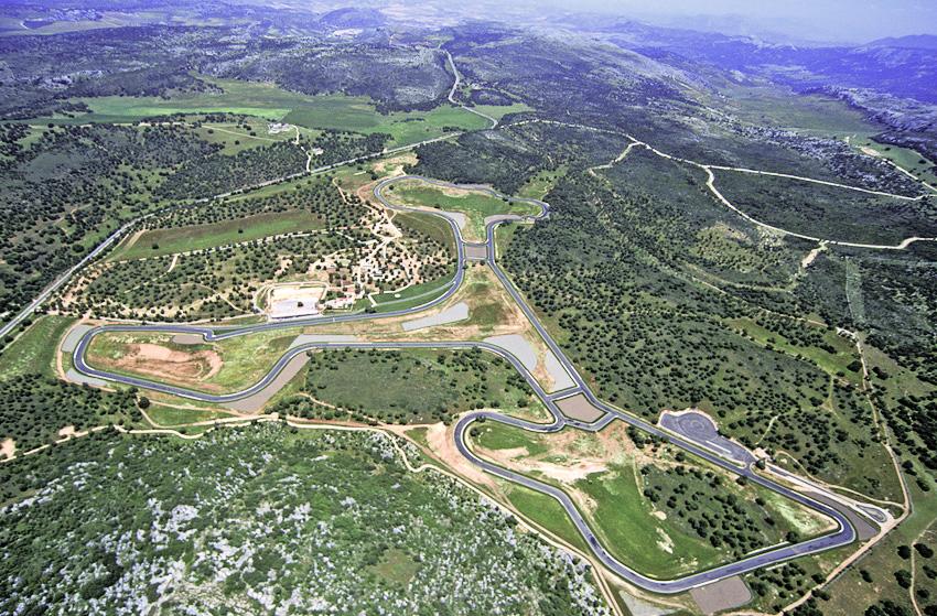 Vista aérea de Ascari Race Resort
