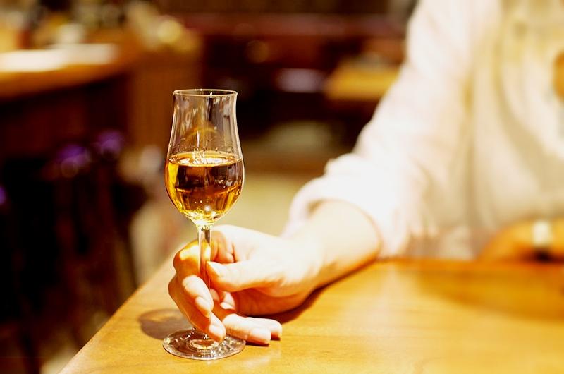 Copa de vino dulce