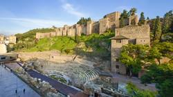 Alcazaba y anfiteatro romano