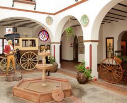 Patio andaluz en Museo Lara